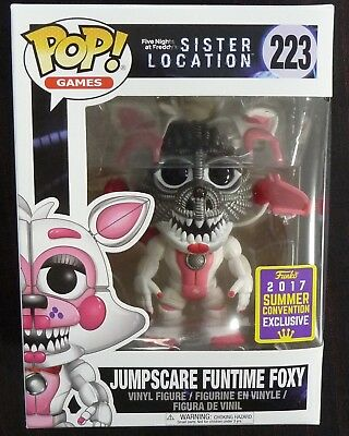 Five Nights at Freddy's - Pop! - Jumpscare Funtime Foxy SDCC 2017 - Funko