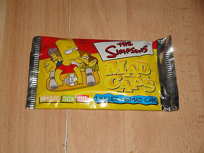 The Simpsons Mad Caps 1 Killer + 6 Mad Caps Sobres A 5 Euros Cada Uno Nuevos