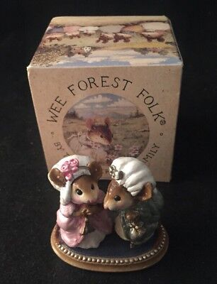 WEE FOREST FOLK The Ugly Step Sisters CINDERELLA Mouse PETERSEN FAMILY