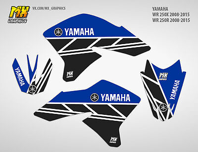 MX Graphics Stickers Kit Decals Yamaha WR250X WR250R 2008-2015