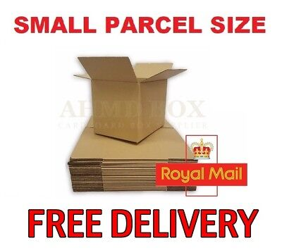 Single Wall Cardboard Postal Mailing Corrugated Boxes Cartons *Multi-Listing*