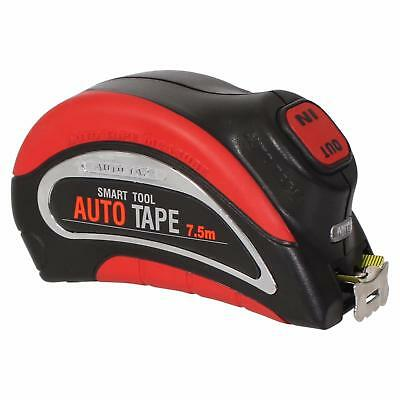 Automatic 7.5m x 25mm Electric Steel Measuring Tape Battery Powered Auto Measure