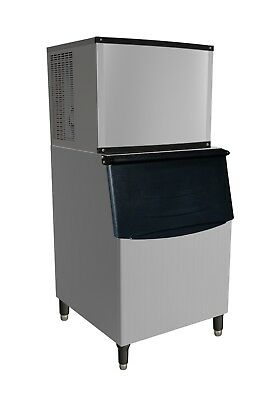New VALPRO 420 Lb Ice Machine with Bin Self Contained VPIM420 FREE SHIPPING!