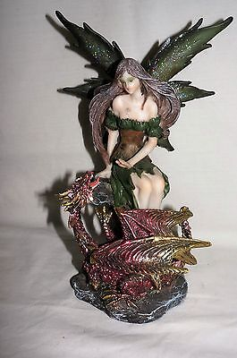 25cm Fairy Fig with Red Dragon