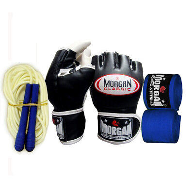 Morgan Classic MMA Gloves Boxing Punching UFC Fight Pads Small FREE GIFT