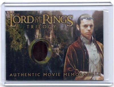 LOTR Lord Of The Rings Trilogy chrome Elrond Rivendell robe costume card #3