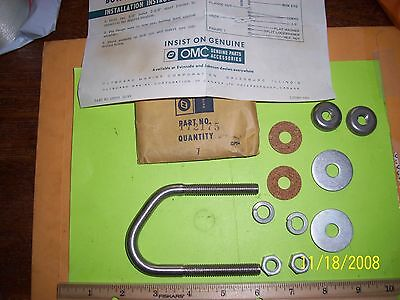 OMC Accessory bow eye kit for boats 172175 New Old-Stock