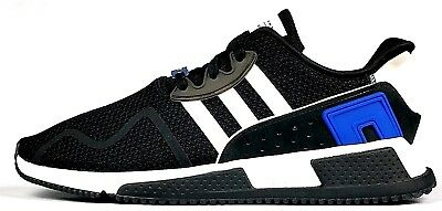 release date: 5e833 73551 Adidas Originals EQT Cushion ADV Mens Casual Shoes Core Black Royal Blue  White