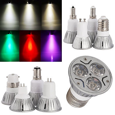Ultra Lumineux 3W Led Spot Epistar Ampoule B22 E27 GU10 MR16 GU5.3 B15 E14 Lampe