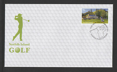 Norfolk Island 2018 : Norfolk Island Golf - First Day Cover, Mint Condition
