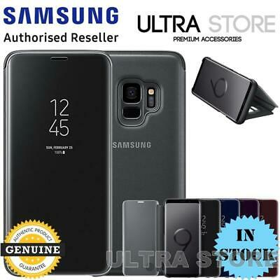 GENUINE Original Samsung G960 G965 Galaxy S9 S9 Plus CLEAR VIEW Cover Stand Case