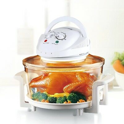 Rosewill 12 Quart 1200W Halogen Convection Countertop Oven Healthy Cooking Hot