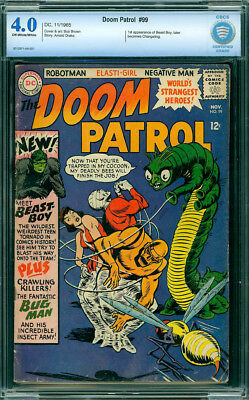 Doom Patrol #99 (DC, 1965) The 1st appearance of Beast Boy CBCS VG Free Shipping