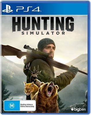 Hunting Simulator Playstation 4 (PS4) Game Brand New In Stock From Brisbane