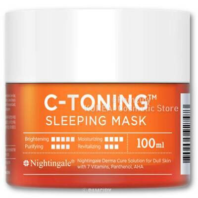 [Nightingale]C-Toning Sleeping Mask 100ml / Korea Cosmetic K Beauty K-POP