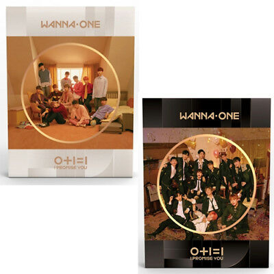 WANNA ONE I PROMISE YOU 2nd Mini Album 2 Ver SET+POSTER+P.Book+Card+Tazo+Ticket