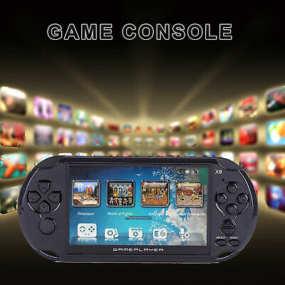 "2018 5"" X9 Handheld Video Game Console 8GB 32bit Built-in 300 Free Retro Games"
