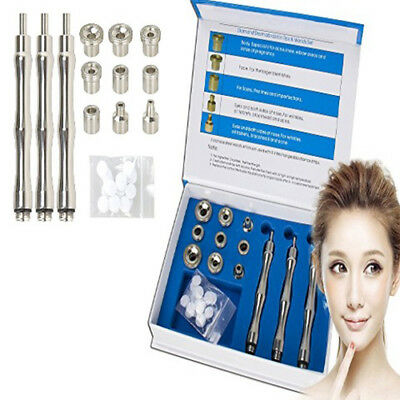 Skin Care Accessories Diamond Microdermabrasion Set with 9 Stainless Steel Tips