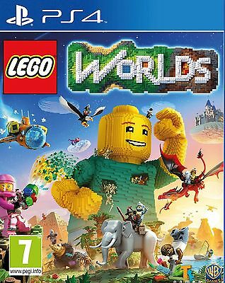 Lego Worlds PS4 NEW SEALED DISPATCHING TODAY ALL ORDERS BY 2 P.M.