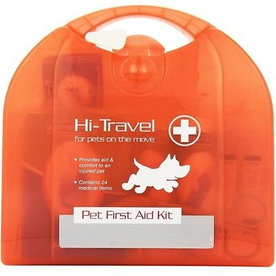 Rosewood Pet Travel First Aid Vet Care Kit Great for Portable Injury Emergencies