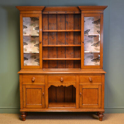 Victorian Welsh Oak Antique Dresser