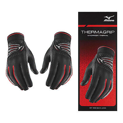 Mizuno Womens Thermagrip Golf Gloves Pair Pack - New Thermal Winter Cold Weather