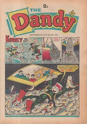 The Dandy Comic Every Tuesday No. 1175 May 30Th 1964.