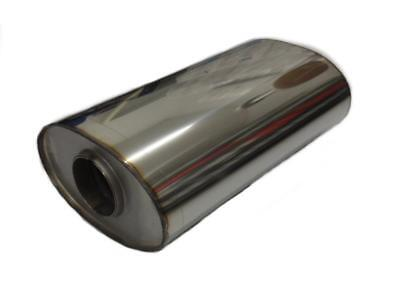 Universal Silencer Oval Stainless Steel 2 5/32in 356x160x420 Fox uni-81842055o