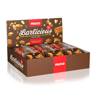 12 x BARRETTE PROTEICHE Barlicious Protein Bar 65 g LOW CARB