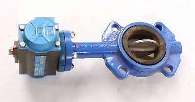 "New CF8M Bi-Torq 3"" Butterfly Valve with Actuator BYWE23063DA"
