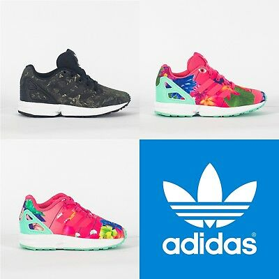 Adidas Originals ZX FLUX Bambino Kid Junior Bambina Scarpe Sneakers NEW Neonato