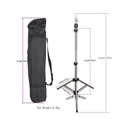HAIR WAY Mannequin Head Tripod Stand Holder Heavy Duty for Cosmetology, 69inc...