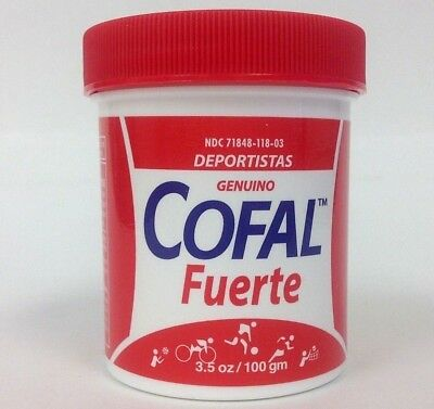 COFAL FUERTE ROJO 3.5oz GRANDE - FOR MUSCULAR PAIN, ARTHRITIS, BACK PAIN