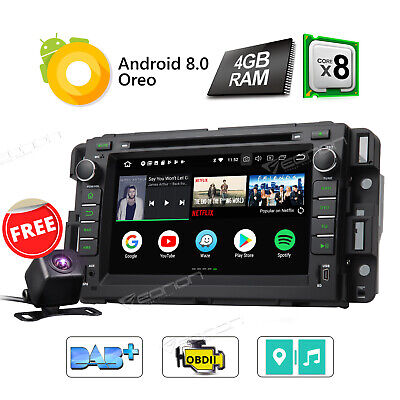 2GB Android 7.1 Car DVD Player for Chevrolet Buick Enclave Stereo GPS + Camera I