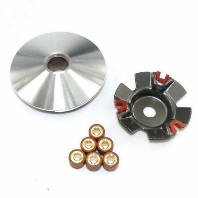 GY6 125 150cc PERFORMANCE VARIATOR SET W/11gm ROLLERS FOR MOPED SCOOTER H VA05