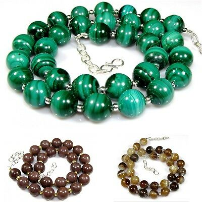 Natural Gemstone Necklace Beads Women's Fashion Jewelry Best Deal Birthday Gift