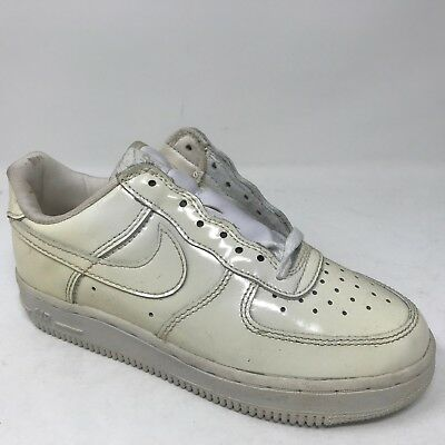653022 3y Low 111 Kid Force 1 New Leather Vintage Size Nike White Air Patent f7vb6gyY
