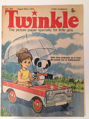 Twinkle Comic for little girls 23rd August 1975