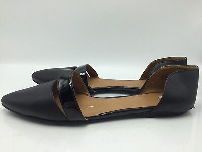 b0aa85933f3 5B12 BP Pointed Toe Flats Ballet Casual Black Slip-on Women s Shoes Size ...