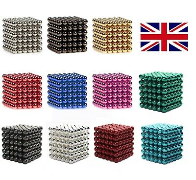 Magnesis® Magnetic Iron Magnet Cube Balls Beads Sphere Stress Relief Chose Yours