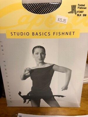 Capezio Studio Basic Women Fishnet Footed Tights for Style # 3407