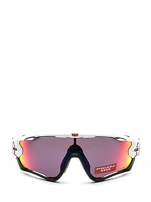 8f5c812eadf OAKLEY JAWBREAKER SUNGLASSES 9270-04 Polished White Prizm Road ...