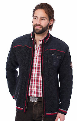 Spieth Wensky Traditional Jacket Cardigan Black Red
