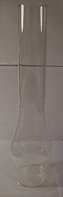 """2 5/8"""" X 14"""" Clear Glass Oil Lamp Chimney For Rayo C.d. Burners New 57960Jb"""