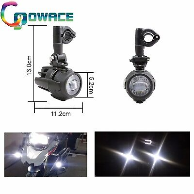 Fit BMW R1200GS/F800GS 40W LED Auxiliary Fog Light Assemblie Safety Driving Lamp