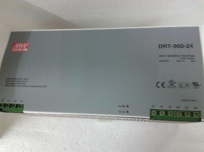 1PC New Mean Well DRT-960-24 AC/DC Power Supply Single-OUT 24V 40A 960W