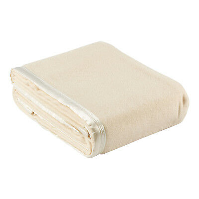 NEW Cream Australian Wool Blanket