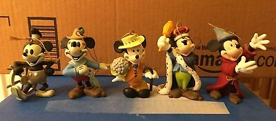 Mickey Mouse Through the Years Ornament Collection (Set of 5)