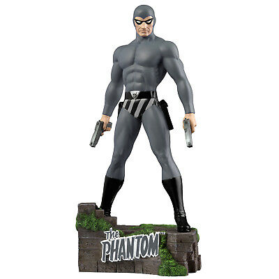 "The Phantom - The Ghost Who Walks - The Grey Ghost 12"" Statue"