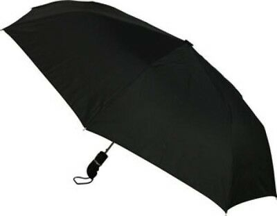 NEW Mens Straight Handle Folding Umbrella